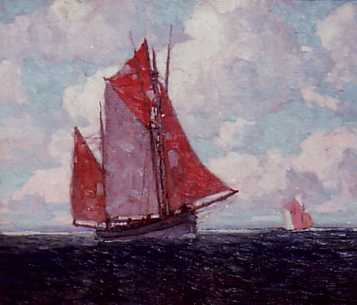 Edgar Payne - Tuna Boats