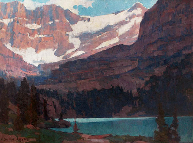 Edgar Payne - Sierra Lake